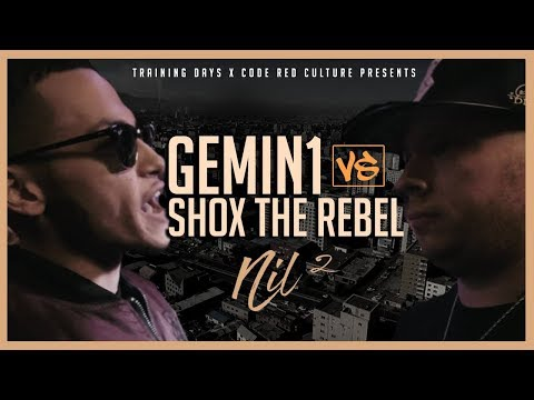 Code Red | GEMIN1 VS SHOX THE REBEL | Rap Battle