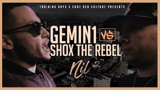 Code Red GEMIN1 VS SHOX THE REBEL Rap Battle