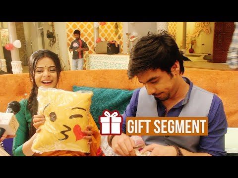 Manish Goplani & Jigyasa Singh Receive Gifts From Fans | Gift Segment | Exclusive