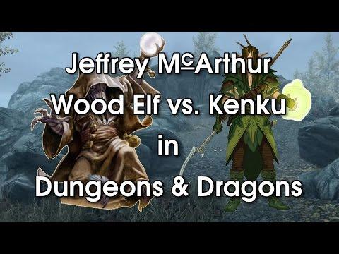 Wood Elf Vs. Kenku In Dungeons And Dragons
