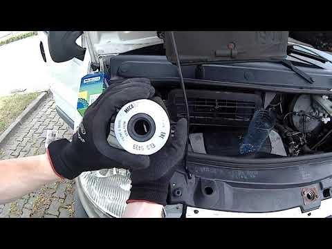 Замена топливного фильтра Opel Vivaro 1.9 Нюансы при замене топливного фильтра которые сберегут ТНВД