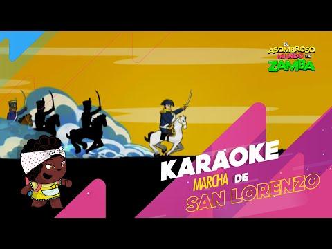 Zamba - Canciones - Marcha De San Lorenzo
