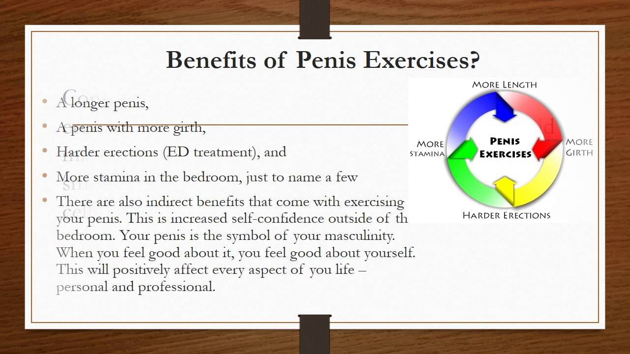 Good Penis Exercises