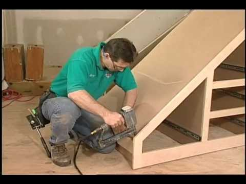 Building Storage Spaces Part 1: How to build storage space under your Stairs.