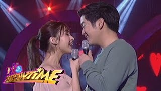 It's Showtime: Joshua Garcia and Julia Barretto's kilig performance on It's Showtime!