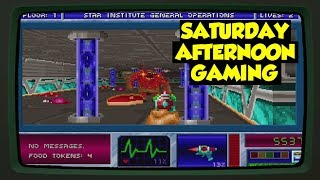 Blake Stone: Aliens of Gold (DOS) - A Sci-Fi Wolfenstein 3D?? - Saturday Afternoon Gaming