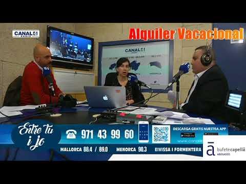 "Bufete Capellà - Canal4 Radio -Entre tu i jo- ""Alquiler Vacacional"""