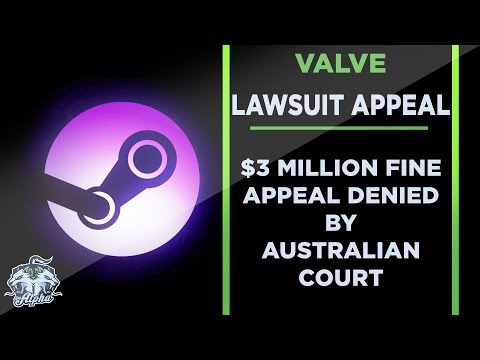 Valve's Appeal Against $3 Million Australian Lawsuit Dismissed