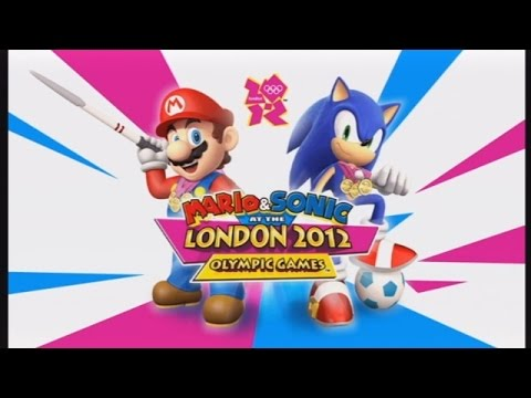 Let's Look at Mario & Sonic at the London 2012 Olympic Games!