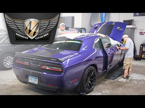 86ae750119 Clear Bra MN Installation Challenger Hellcat. Midwest Clear Bra