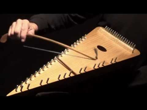 """""""ROGUES MARCH"""" on Bowed Psaltery"""