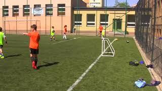 Cz3- Turniej Dzikich Drużyn - Czarne Pomarańcze - Nadia Sabek i Misiu - Trzeci meczyk