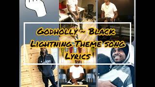 Godholly ~ Black Lightning Lyrics