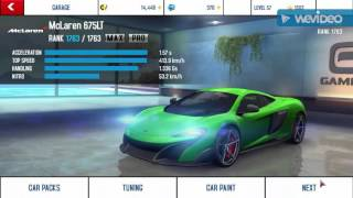 Asphalt 8- best credit farming method with McLaren 675LT