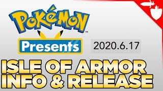 Pokemon Presents TOMORROW - Pokemon DLC Isle of Armor Info & Release Time Most Likely