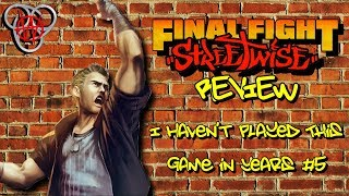 Final Fight Streetwise - Review PS2/Xbox - I Haven