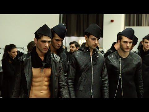 Emporio Armani – 2015 Fall Winter – Men's Fashion Show Backstage