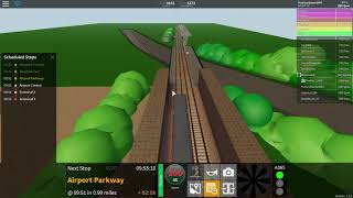 Roblox Stepford County Railway Ep 40 (190 sub special)(Stepford East to Terminal 3 + New Class 185)