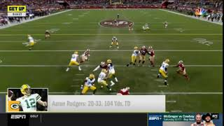 Get Up | Mike Greenberg INSISTS this game more important to Aaron Rodgers' legacy, Why ask back?