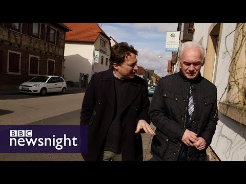 Merkel fatigue? The view from 'Mini-Deutschland' - BBC Newsnight