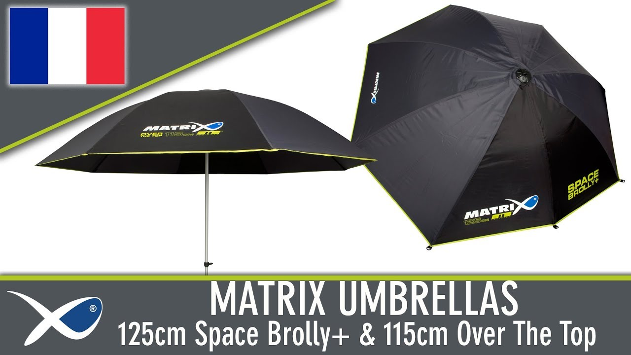 Matrix New 2017 50 Space Brolly Plus For Fishing GUM007