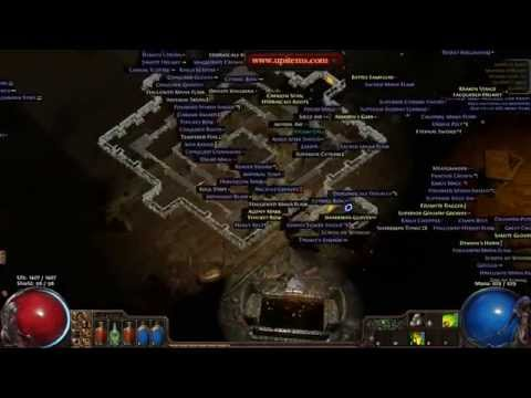 Five Minutes Farming Unique Path of Exile Map - Extraordinary Drop Rate