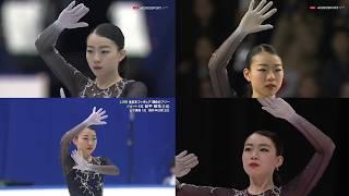 紀平梨花 Rika Kihira フリープログラム Free Program NHK杯・GPファイナル・全日本・四大陸 NHK Torophy,GPF,All Japan,4CC