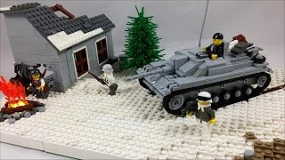 "Lego WW2 Eastern Front MOC ""Lost In The Snow"" 