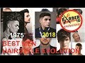 [Hairstyle Evolution] The Best Mens Hairstyles in 40 Years - extended version