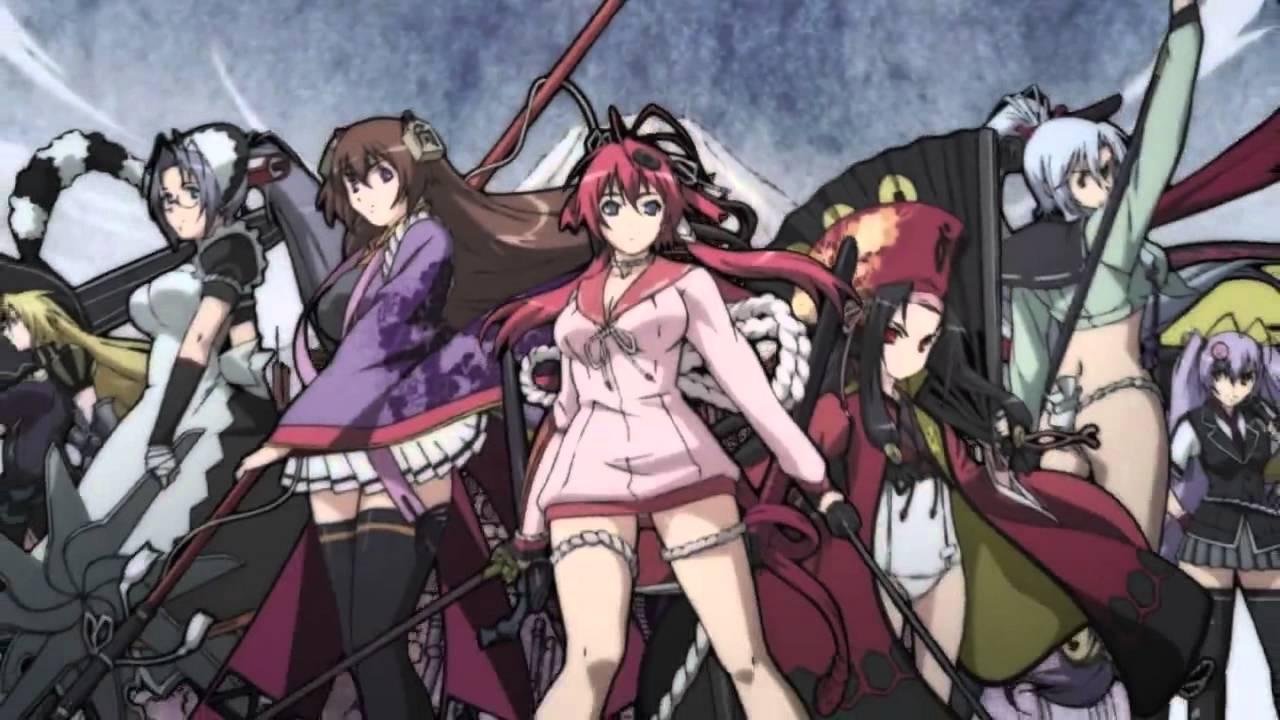 Eross Indo Animation: Hyakka Ryouran - Samurai Girls 02