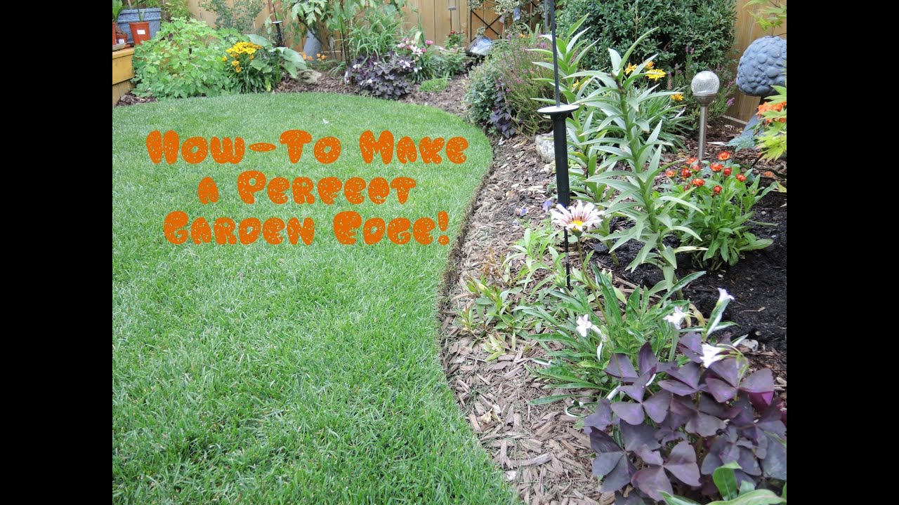 How To Give Your Lawn The Perfect Edge Youtube