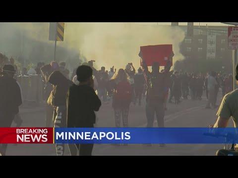 Protesters Disregard Curfew,