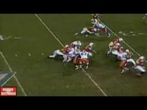 Tommie Frazier Touchdown Against Florida