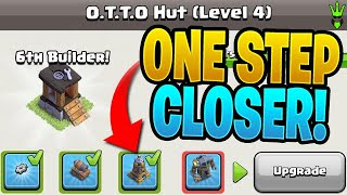 ONE STEP CLOSER TO UNLOCKING O.T.T.O! - Clash of Clans