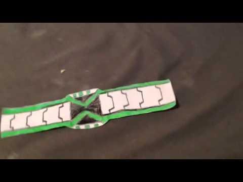 ben 10 omniverse paper omnitrix youtube