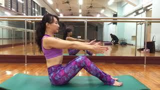 艾伶卡瑜伽影片70腹部緊實 遠離肚肚鬆軟,這個運動不能少! thumbnail