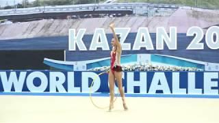 Александра Солдатова - Обруч(многоборье) WCC Kazan 2018 20.2