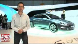 The 5 Peugeot Concept car 2010 Videos