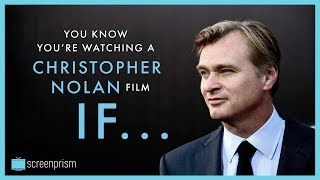 You Know It's a Christopher Nolan Movie IF...