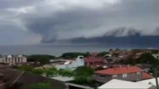Gempar Awan Tsunami Terjadi di Australia