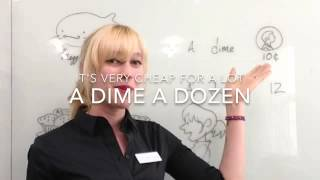 [idiom] A dime a dozen