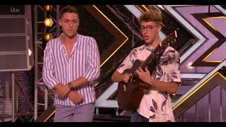 Video Jack & Joel: STUNNING Guitar Beatbox Ed Sheeran Medley | Auditions | The X Factor UK 2017 download MP3, 3GP, MP4, WEBM, AVI, FLV Januari 2018