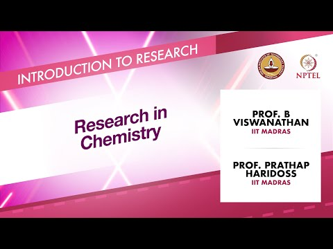 Research in Chemistry