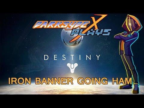 Destiny | PvP | Iron Banner | 19 Kills GOING HAM