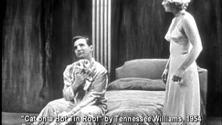 Cat on a Hot Tin Roof Original Cast Clip.avi