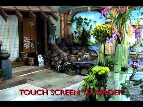 Granara's Flowers Kiosk Video