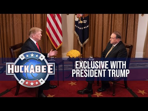 An Exclusive Interview with President Donald Trump (Full Interview)   Huckabee