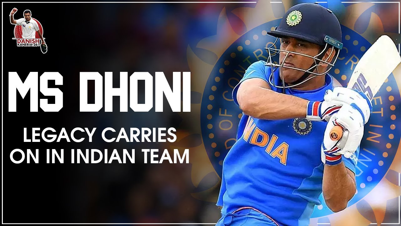 MS Dhoni legacy carries on in Indian Team | Danish Kaneria Live
