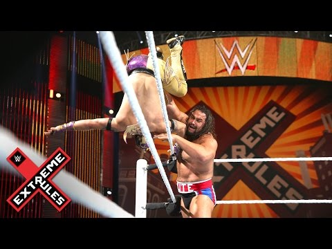 Kalisto vs. Rusev - United States Title Match: 2016 WWE Extreme Rules on WWE Network