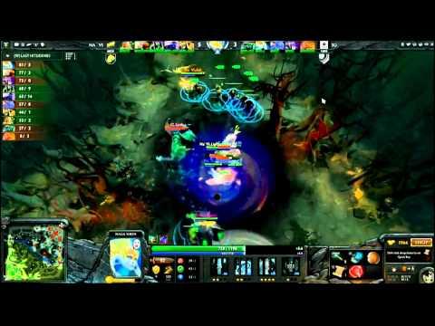 DotA 2 The International: Epic Ravage Steal Na'vi Vs IG